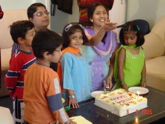Annanya' Birthday